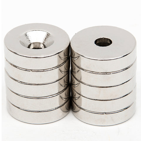 10pcs Diameter 19.4mm x 4.7mm N52 Magnet Rare Earth NdFeB Neodymium Permanent Magnet Very Powerful Acoustic Field Speaker