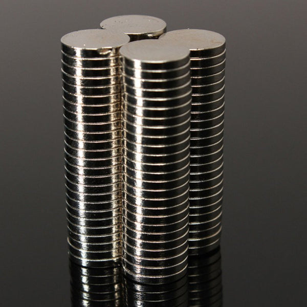 Lot of 50 Disc Magnets Dia 8mm x 1mm Small Thin Neodymium Disc Magnets Processing Technology N52