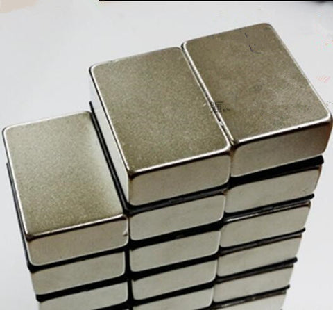 6pcs 30x20x10mm N35 Rare Earth Super Strong Permanent Magnet Cuboid Block Neodymium Magnet 30*20*10 Free Shipping 30x20x10
