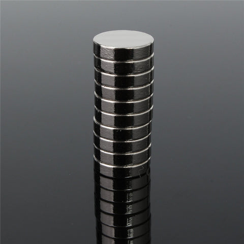 10pcs 12 x 3mm Disc Rare Earth Neodymium Super Strong Fridge Magnets N35 Craft Model Neodymium Magnet Permanent Magnet