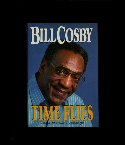 Time Flies by Bill Cosby (1987, Hardcover)