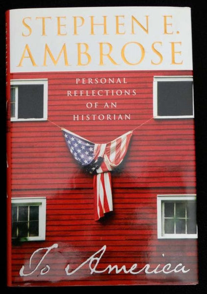 To America by Stephen E. Ambrose (2002, Hardcover)