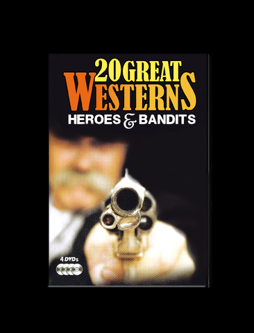 (4 Disc DVD) 20 Great Westerns: Heroes & Bandits