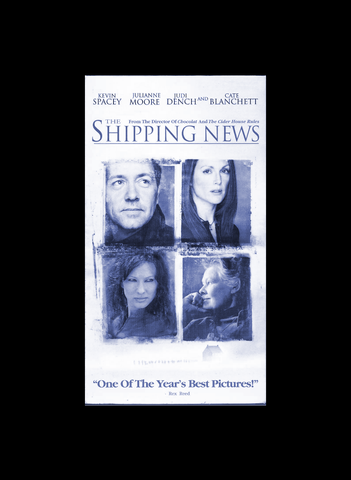 (VHS) The Shipping News