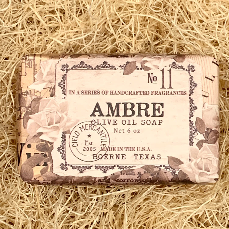 Ambre Olive Oil Soap Large (6oz.)