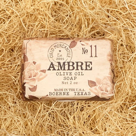 Ambre Olive Oil Soap Small (2oz.)