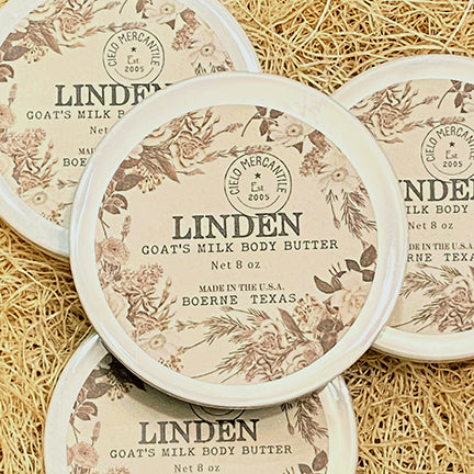 Linden Goat's Milk Body Butter Large (8oz.)