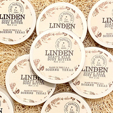 Linden Goat's Milk Body Butter Small (2oz.)