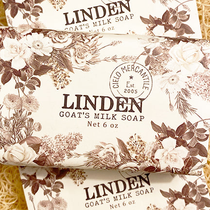 Linden Goat's Milk Soap Large (6oz.)