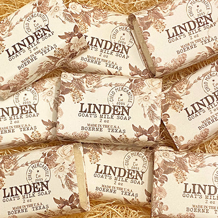 Linden Goat's Milk Soap Small (2oz.)