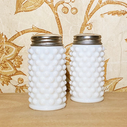 Hobnail Salt & Pepper Shakers