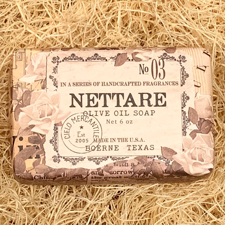 Nettare Olive Oil Soap Large (6oz.)