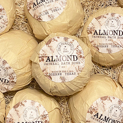 Almond Oatmeal Bath Bomb