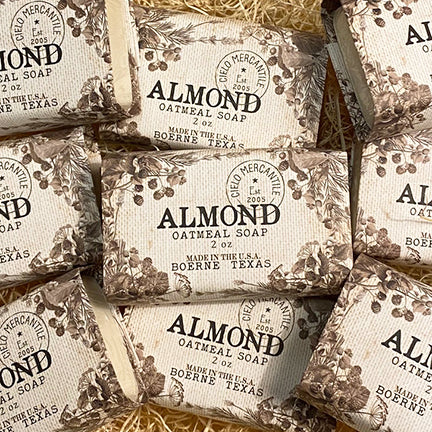 Almond Oatmeal Soap Small (2oz.)