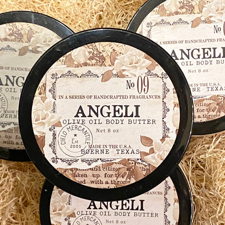 Angeli Olive Oil Body Butter Large (8oz.)