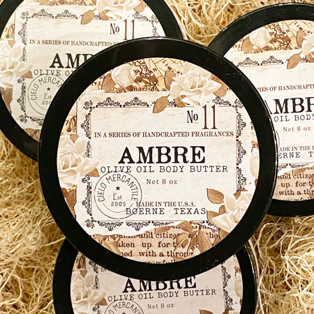 Ambre Olive Oil Body Butter Large (8oz.)