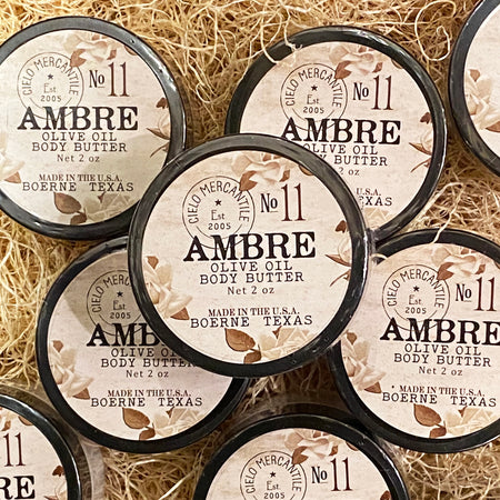 Ambre Olive Oil Body Butter Small (2oz.)