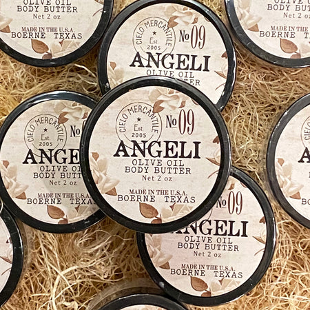Angeli Olive Oil Body Butter Small (2oz.)