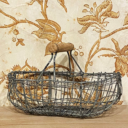 Oval Wire Basket