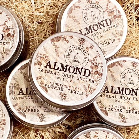 Almond Oatmeal Body Butter Small (2oz.)