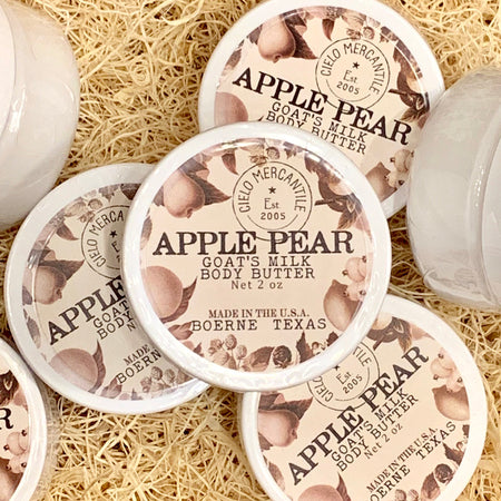 Apple Pear Goat's Milk Body Butter Small (2oz.)