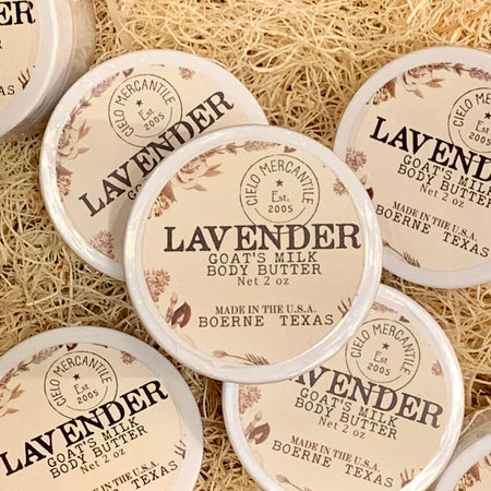 Lavender Goat's Milk Body Butter Small (2oz.)