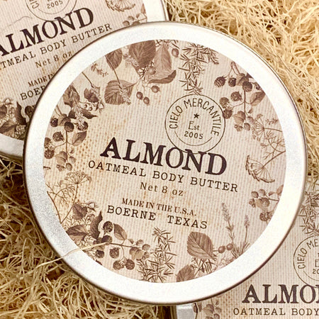 Almond Oatmeal Body Butter Large (8oz.)