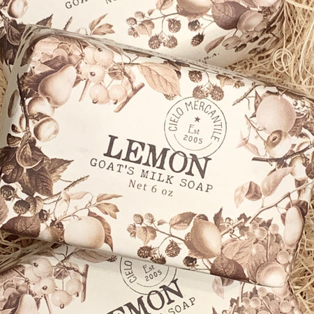 Lemon Goat's Milk Soap Large (6oz.)