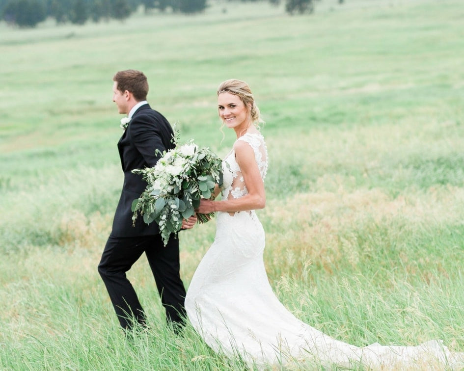 Denver bride and groom