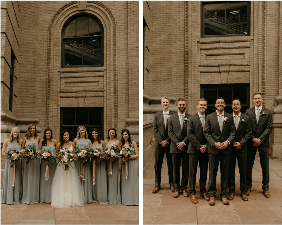 Denver bridal party