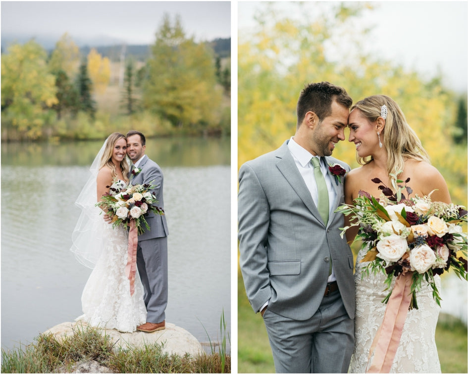 Denver Colorado fall wedding
