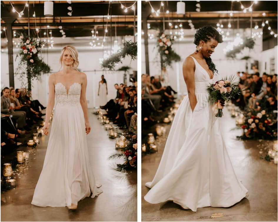 Denver bridal salon fashion show