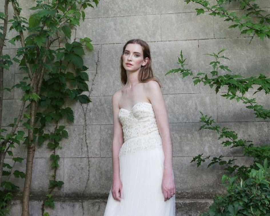 Alexandra Greeco bridal gown