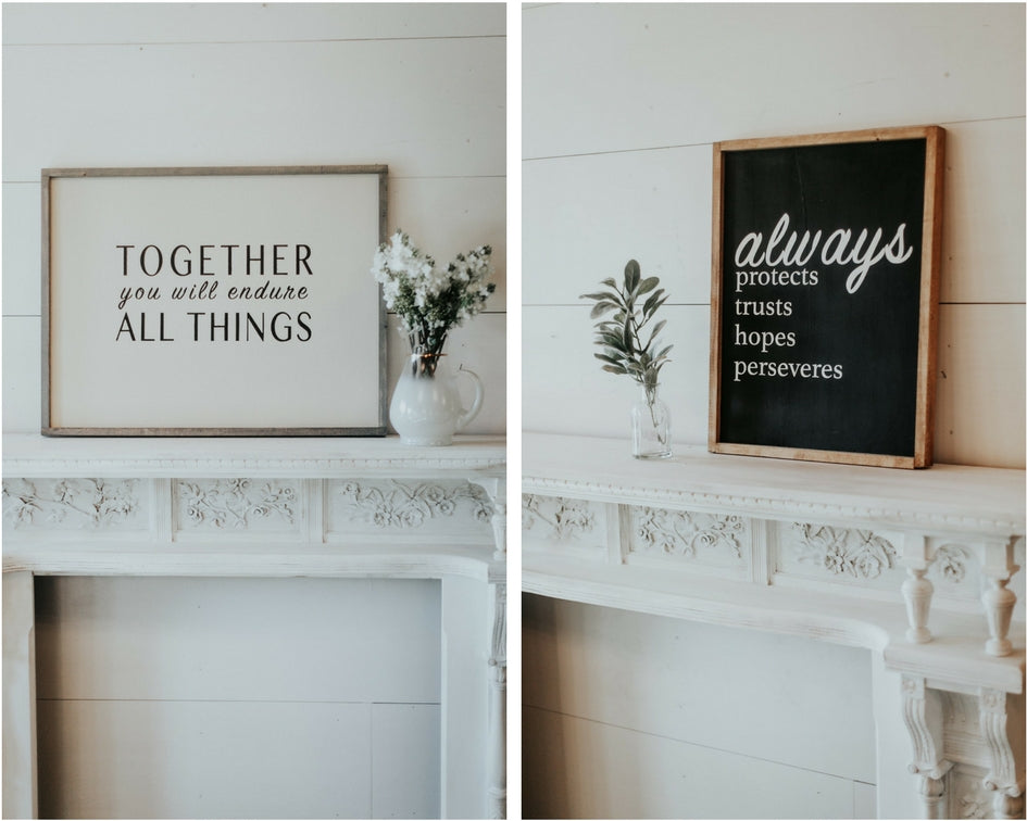 wedding decors signage