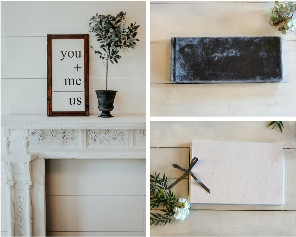 wedding guestbooks and signs