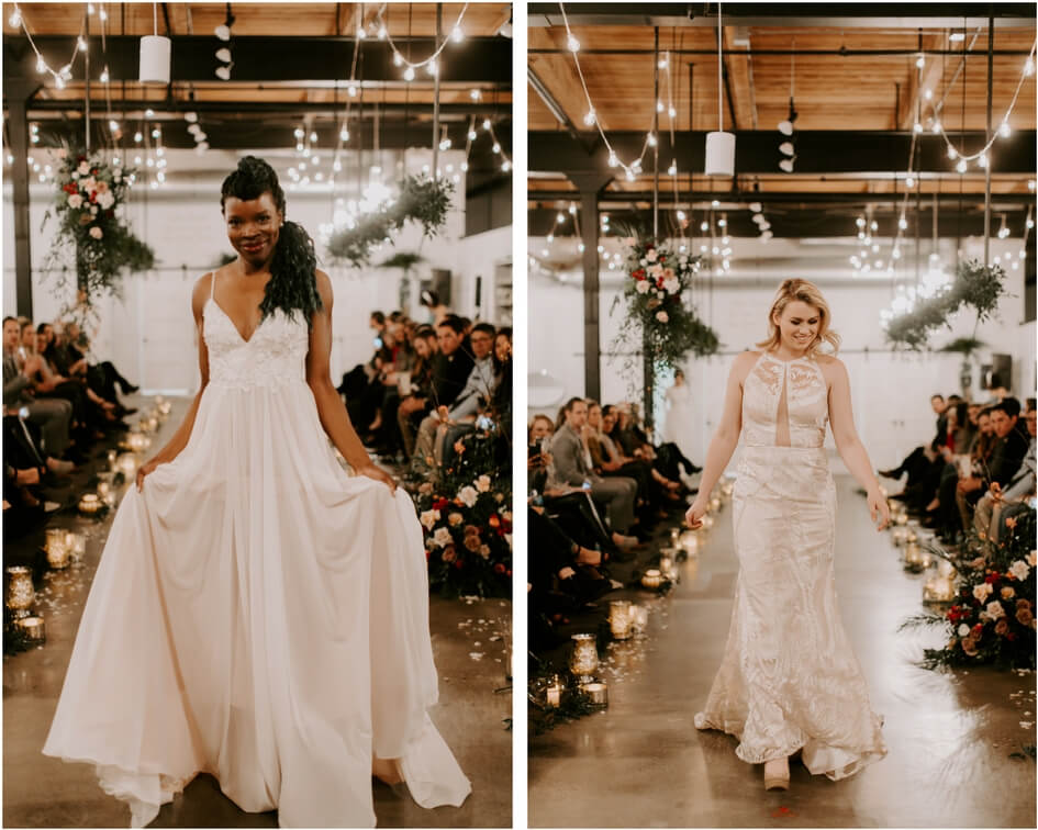 unique wedding dresses for fashion show