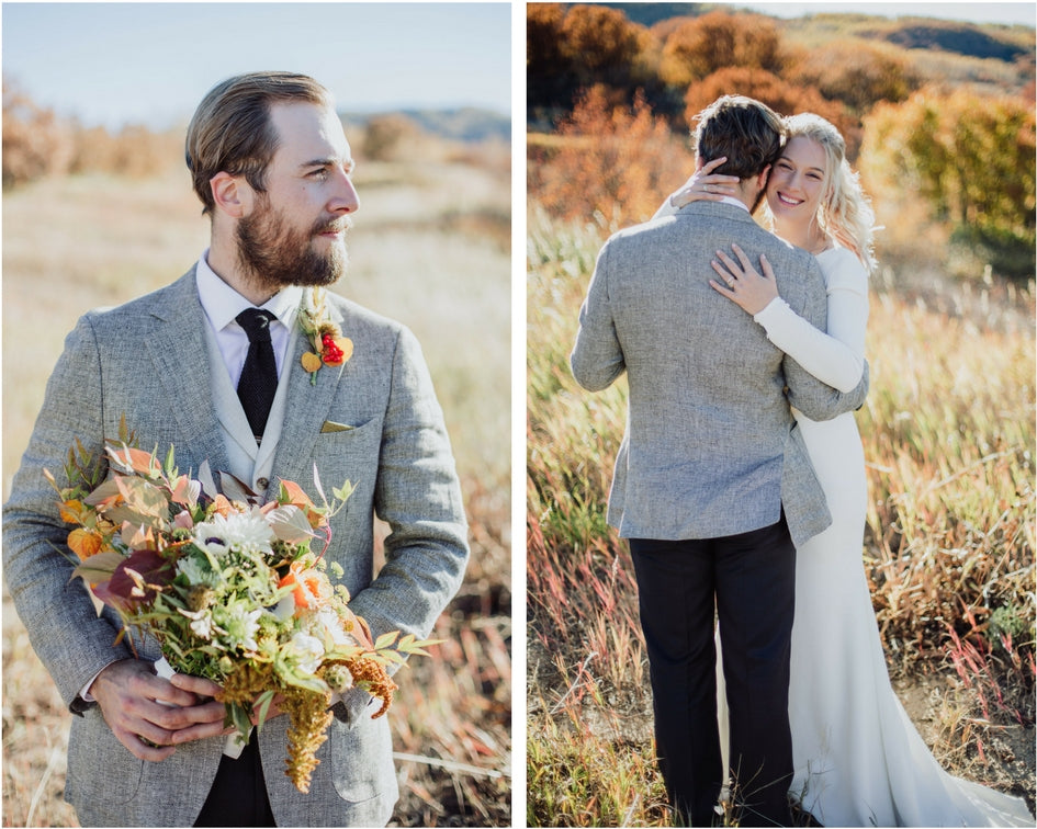 fall Colorado mountain wedding