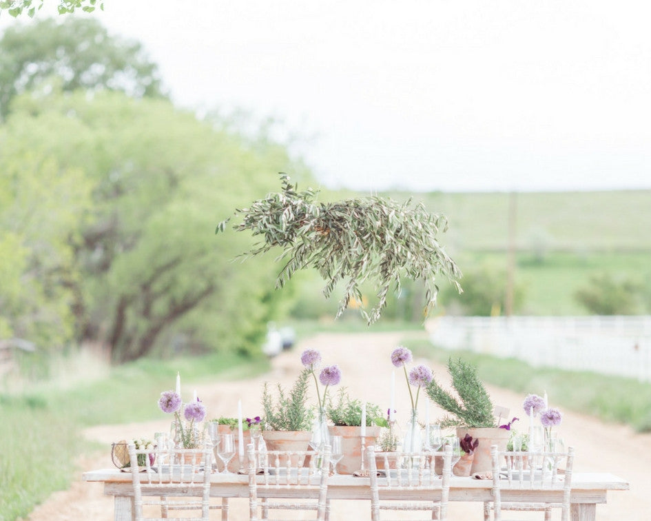 styled shoot table