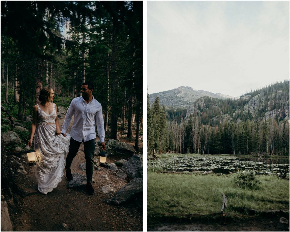 vow renewal in colorado mountains