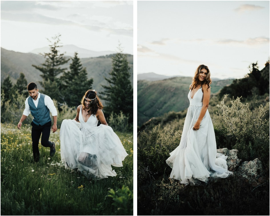 leanne Marshall wedding dress  Denver