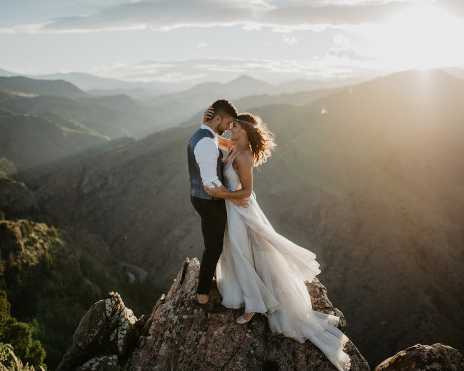 lookout mountain Colorado wedding photos
