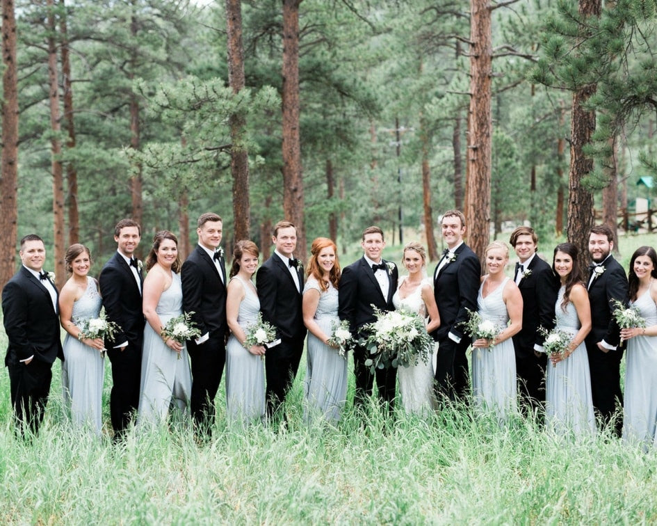 colorado bridal party