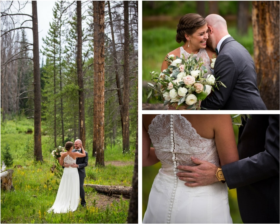 colorado bride and groom