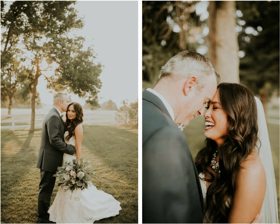 denver colorado bride in pronovias wedding dress