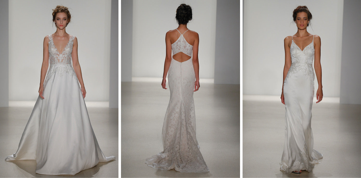 Kelly Faetanini wedding dress at Denver bridal studio