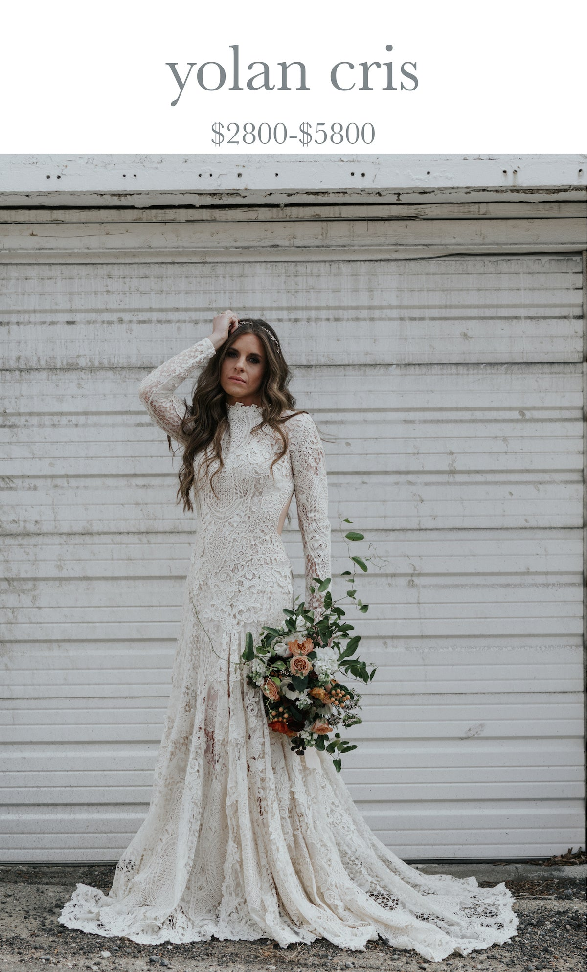 boho wedding gowns