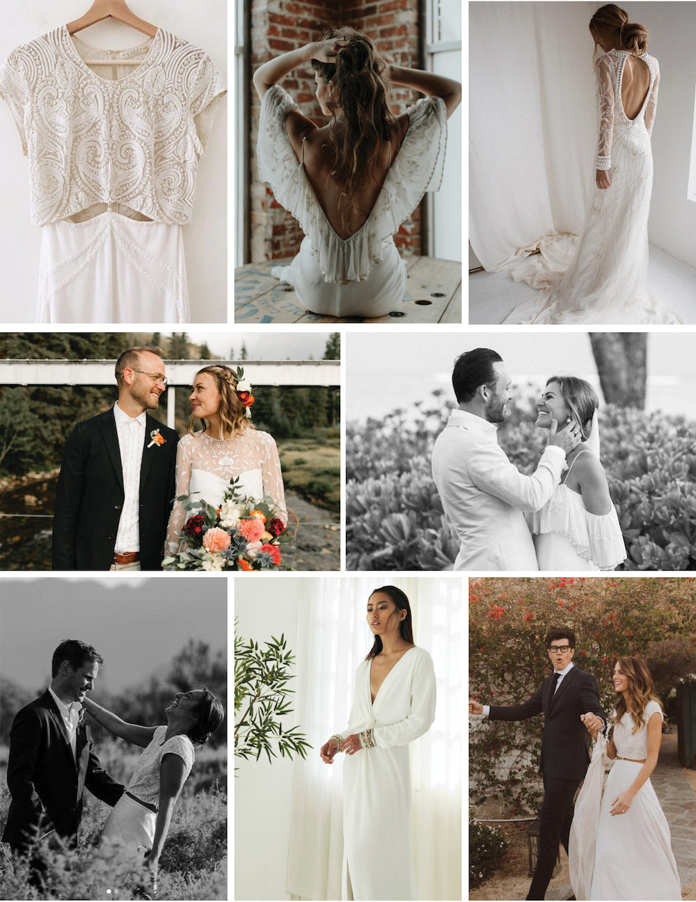 bo & Luca wedding dresses
