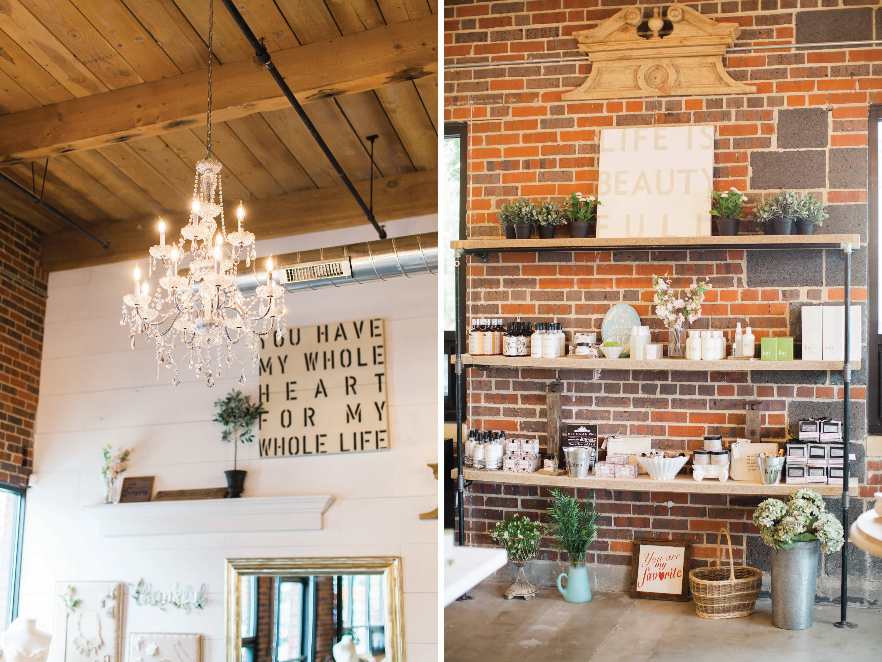 Bohemian & Indie Denver bridal salon