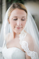 bride in bridal gown