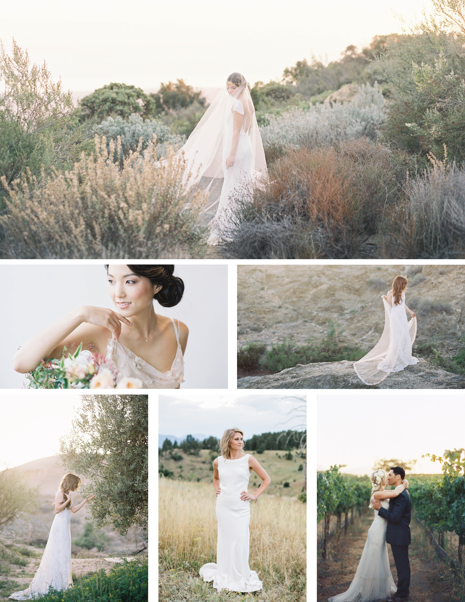 Designer Sarah Janks wedding gowns that are whimsical and romantic